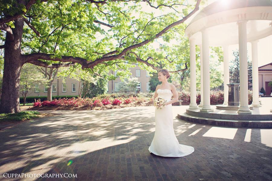 Bridal, Portrait, Wedding, Photographer, Chapel Hill, North Carolina, UNC, Old Well