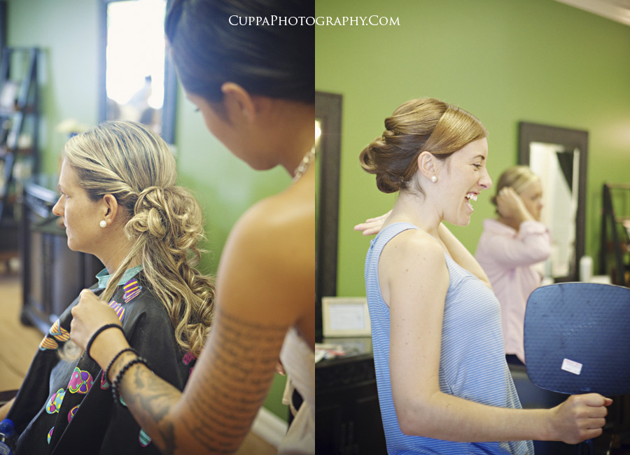 Maine wedding photographer, Morehead City, North Carolina, St. Andrews Church, The Hair Gallery