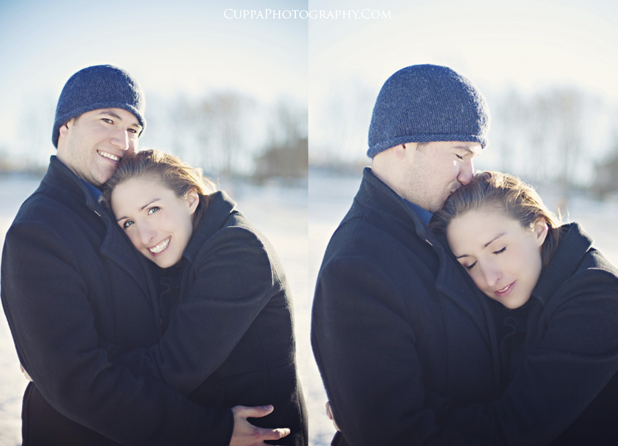 Maine wedding photographer, Old Port, Portland, Fort Williams Park, Head Light, engagement photos, snow