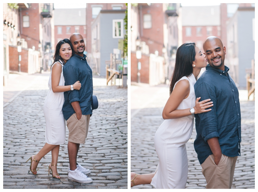 MaineWeddingPhotographer_portraits_engagement_Portland_FtWilliamsPark_OldPort_Headlight-013