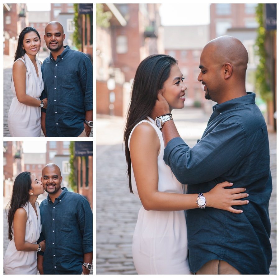 MaineWeddingPhotographer_portraits_engagement_Portland_FtWilliamsPark_OldPort_Headlight-017