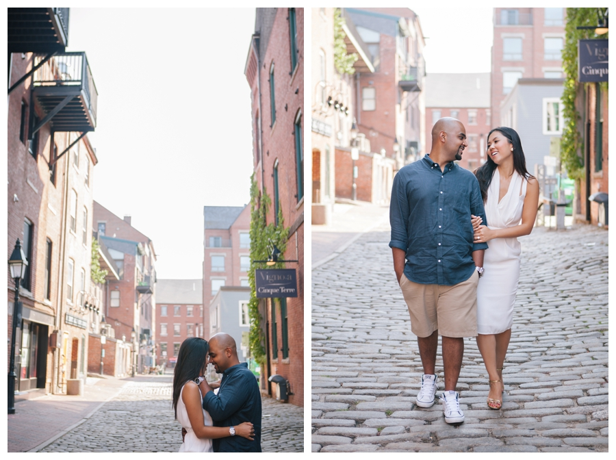 MaineWeddingPhotographer_portraits_engagement_Portland_FtWilliamsPark_OldPort_Headlight-019