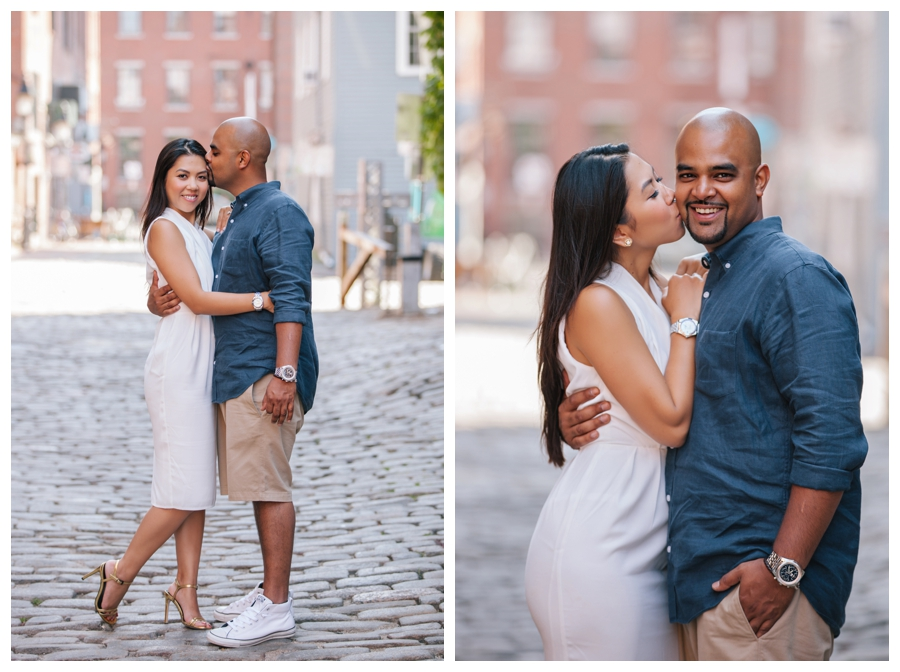MaineWeddingPhotographer_portraits_engagement_Portland_FtWilliamsPark_OldPort_Headlight-023