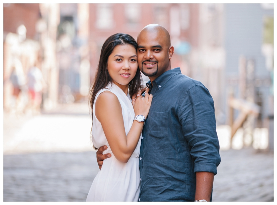 MaineWeddingPhotographer_portraits_engagement_Portland_FtWilliamsPark_OldPort_Headlight-024