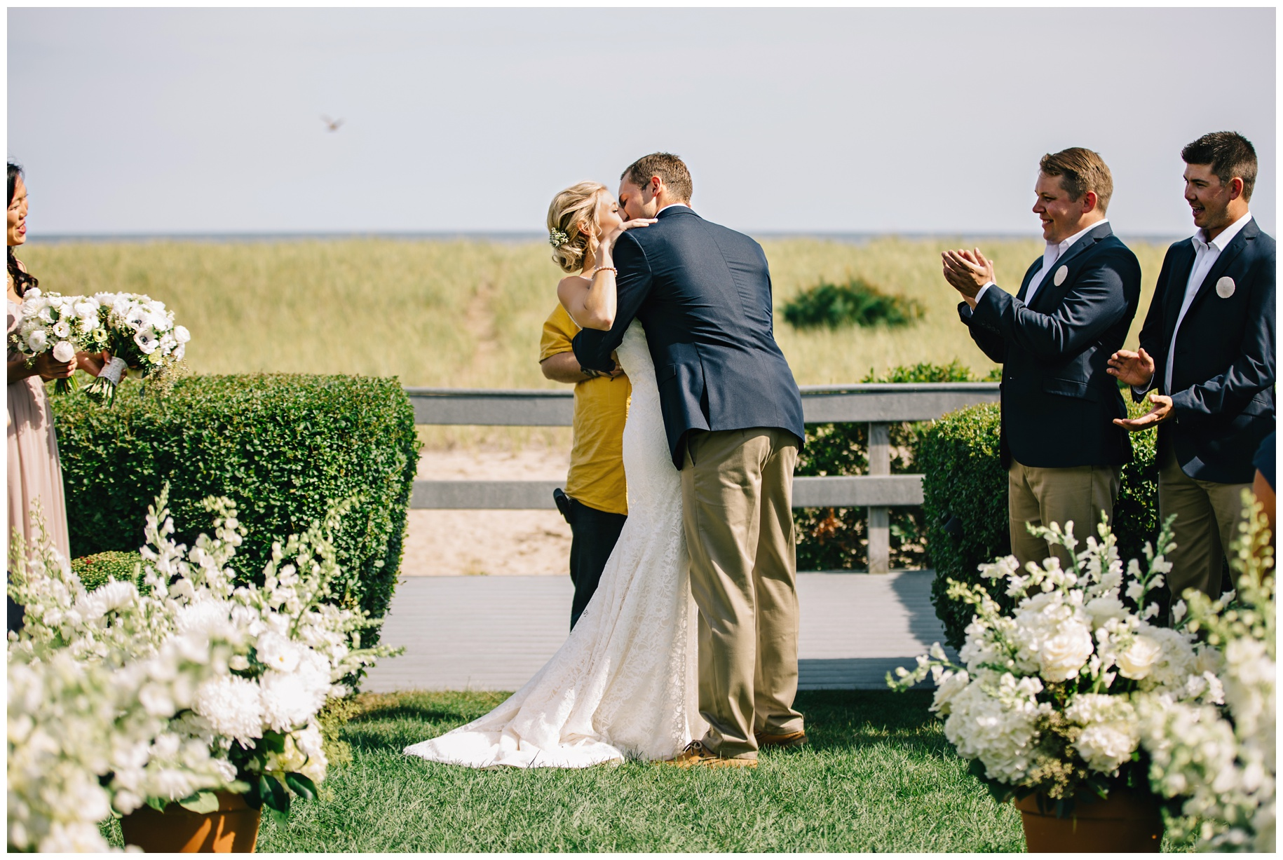 MaineWeddingPhotographer_OldOrchard_Beach_Coast_pier_tent-006